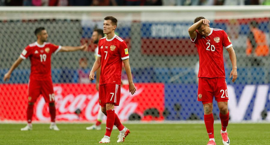 Российская Федерация вылетела сдомашнего Кубка конфедераций
