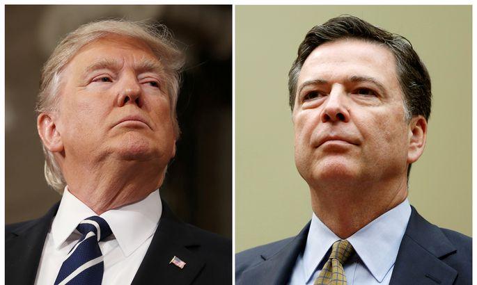 Трамп считает, что экс-начальник ФБР врал под присягой