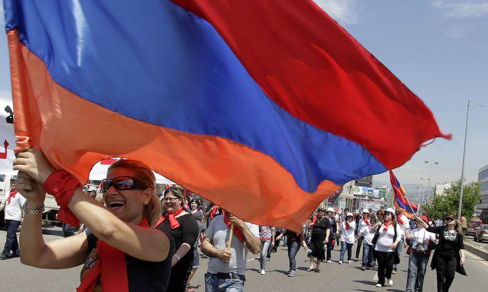 Армения ратифицировала соглашение опартнёрстве сЕС