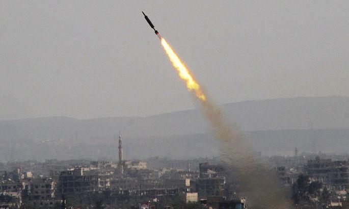 Удар поСирии: появились первые фото ивидео