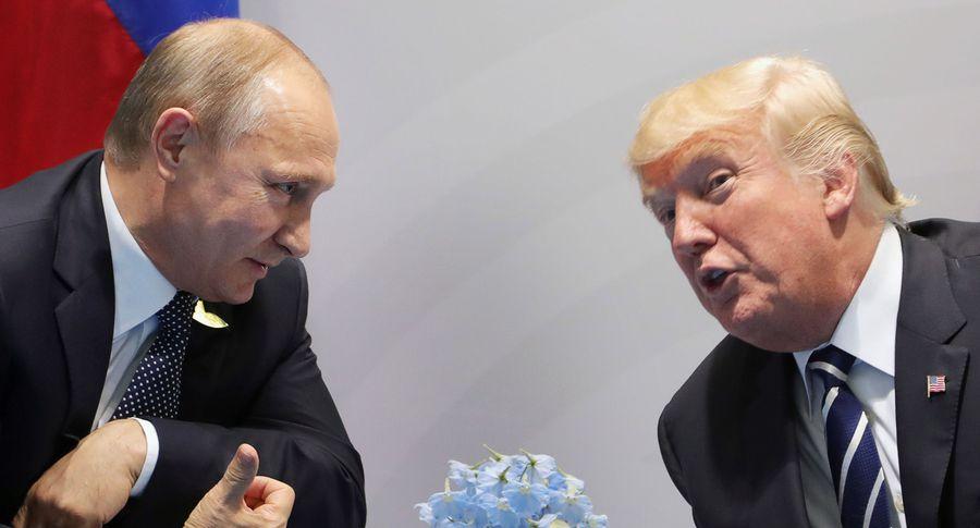 Путин назвал темы переговоров сТрампом