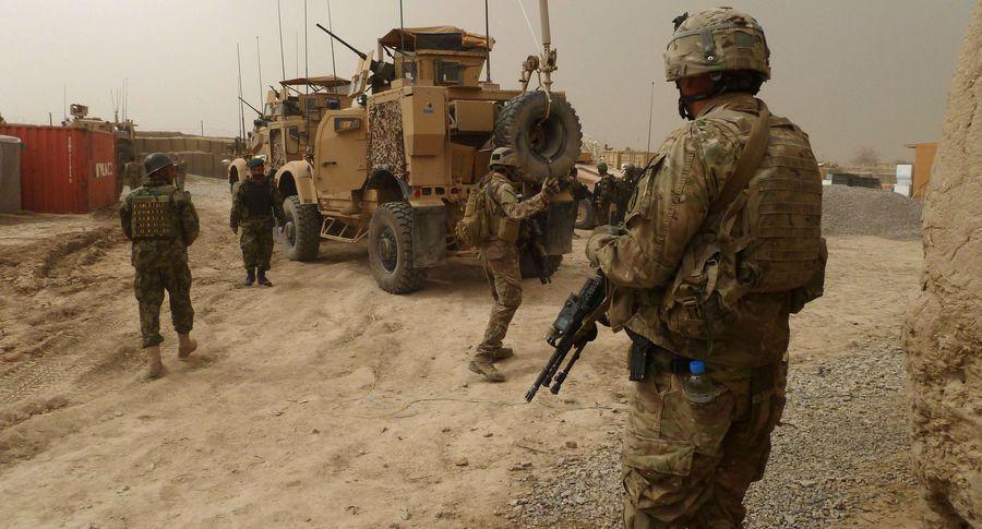 США уводят изСирии 400 морских пехотинцев