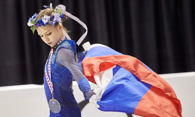 Фигуристка Трусова с 2-мя рекордами одолела наГран-при Канады
