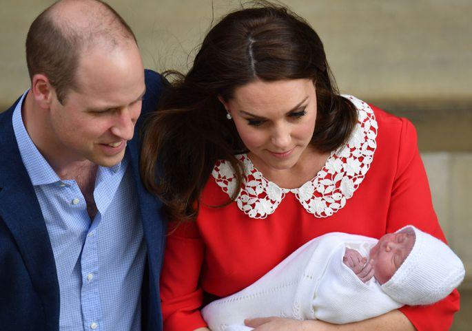 Стало известно имя новорожденного английского  принца
