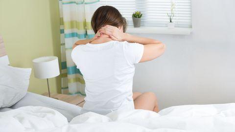 Kaelavalu võib segada keskendumist terve päeva jooksul.