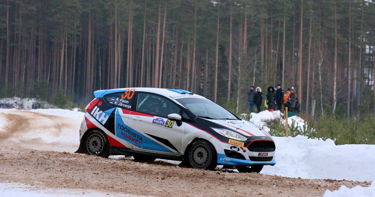 Roland Poom – Ken Järveoja lõpetasid Rootsi ralli eelse viimase jõuproovi poodiumil