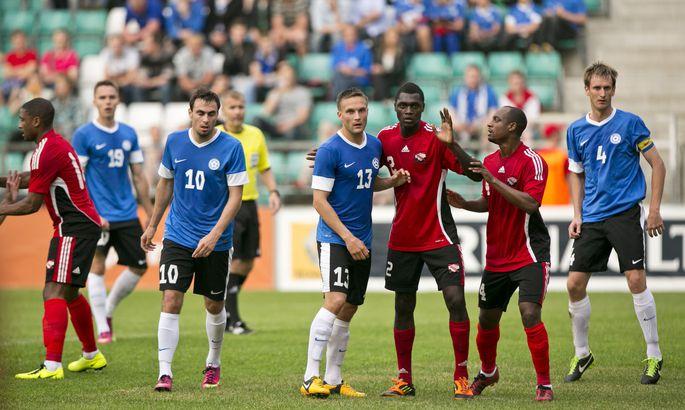 913f10763a1 Eesti jalgpallikoondis on Trinidadi ja Tobagoga juba mänginud. Kas  tulevikus võidakse vastamisi minna ka play-offis?