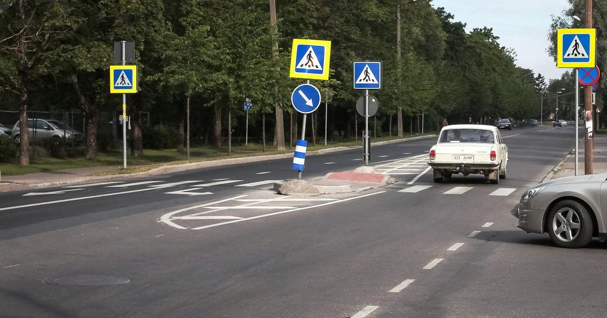 Päeva ainsas liiklusõnnetuses sai viga auto alla jäänud mees