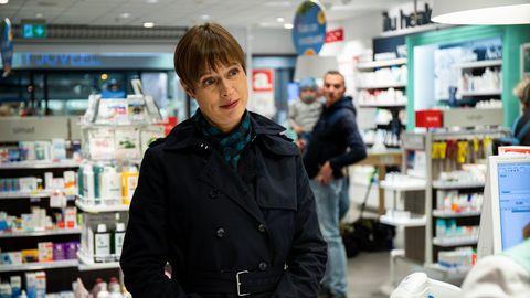 Kersti Kaljulaid käis gripi vastu vaktsineerimas Järve keskuse Apothekas.