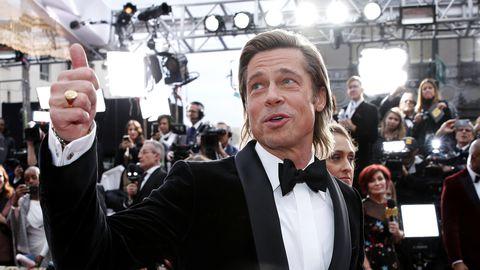 Taimetoiduline Brad Pitt Oscaritel 2020.