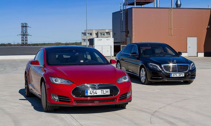 fb86579d645 Tesla vs. Mercedes: kumma «S» on parem? - Auto - Tehnika