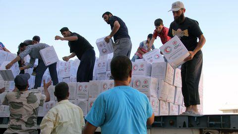 Süürias puudub 12,4 miljonil inimesel toiduga kindlustatus