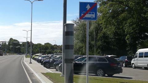 Tallinnast kaovad viimased kiiruskaamerad