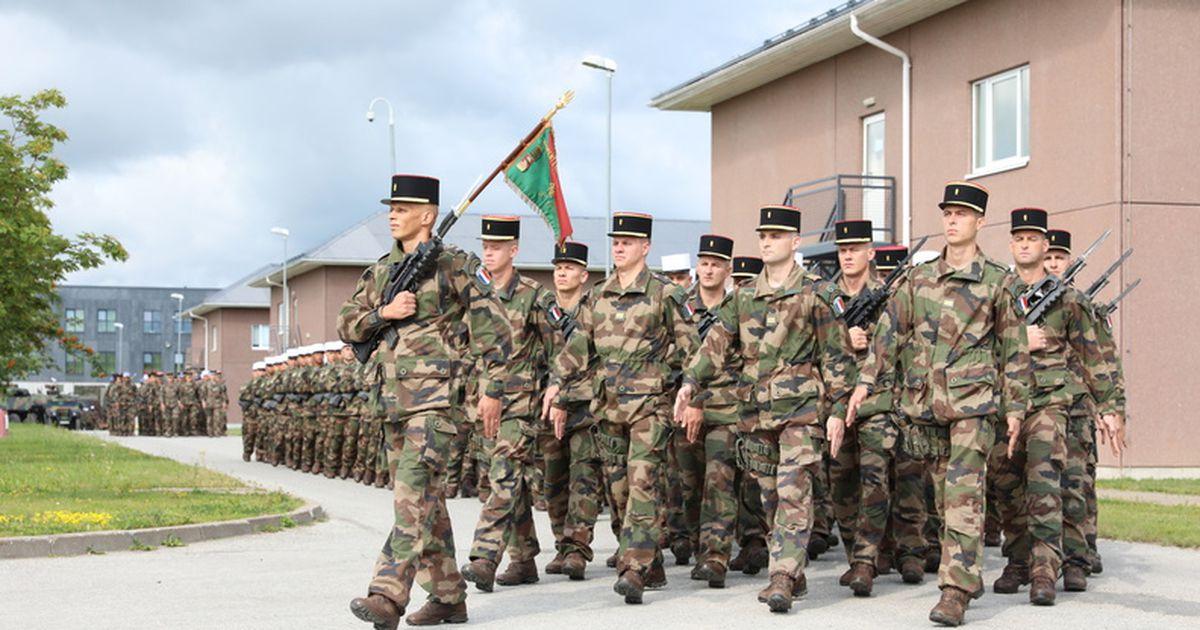 Prantsuse kaitseväelased tähistasid Tapa linnakus oma rahvuspüha