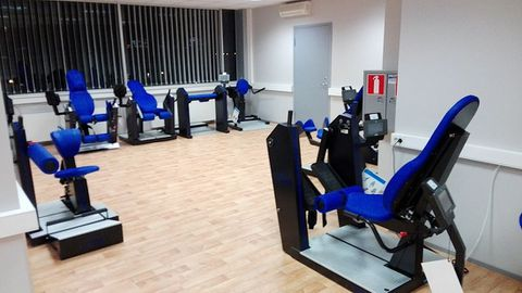 Eesti Liikumispuudega Inimeste Liidu uus rehabilitatsioonikeskus.