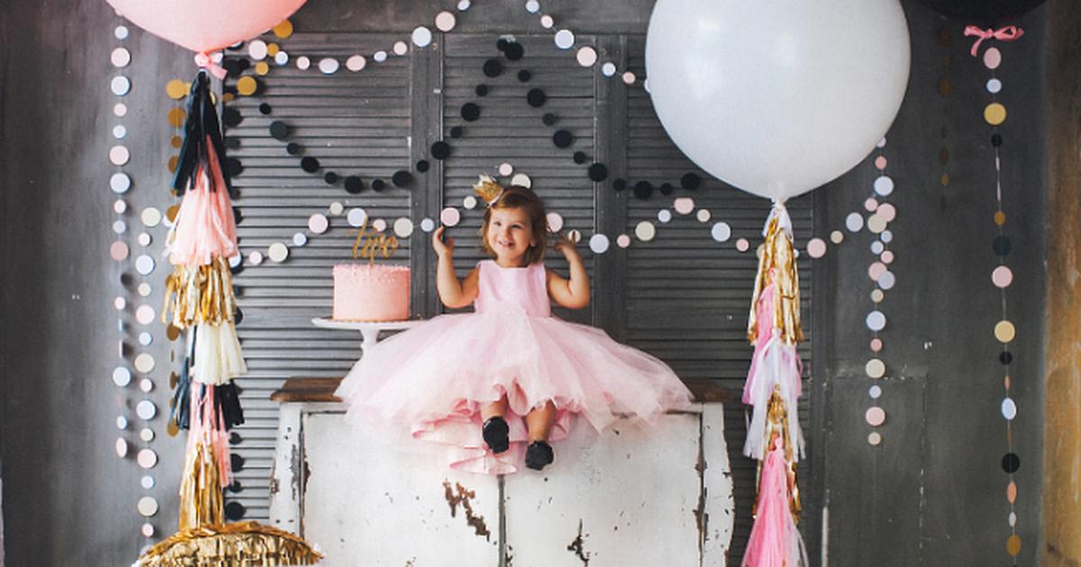 как украсить дом к дню рождения ребенка своими руками 1 годик