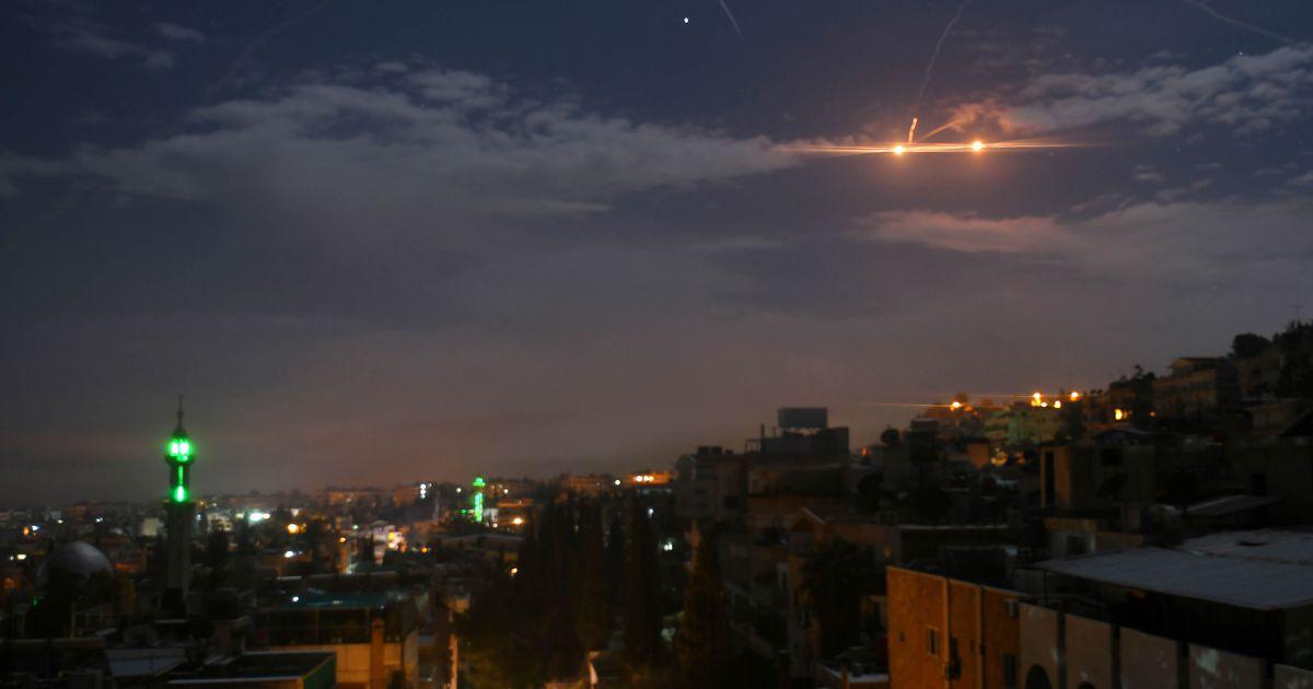 Iisrael andis Süüriale õhulöögi Iraani droonirünnaku ärahoidmiseks
