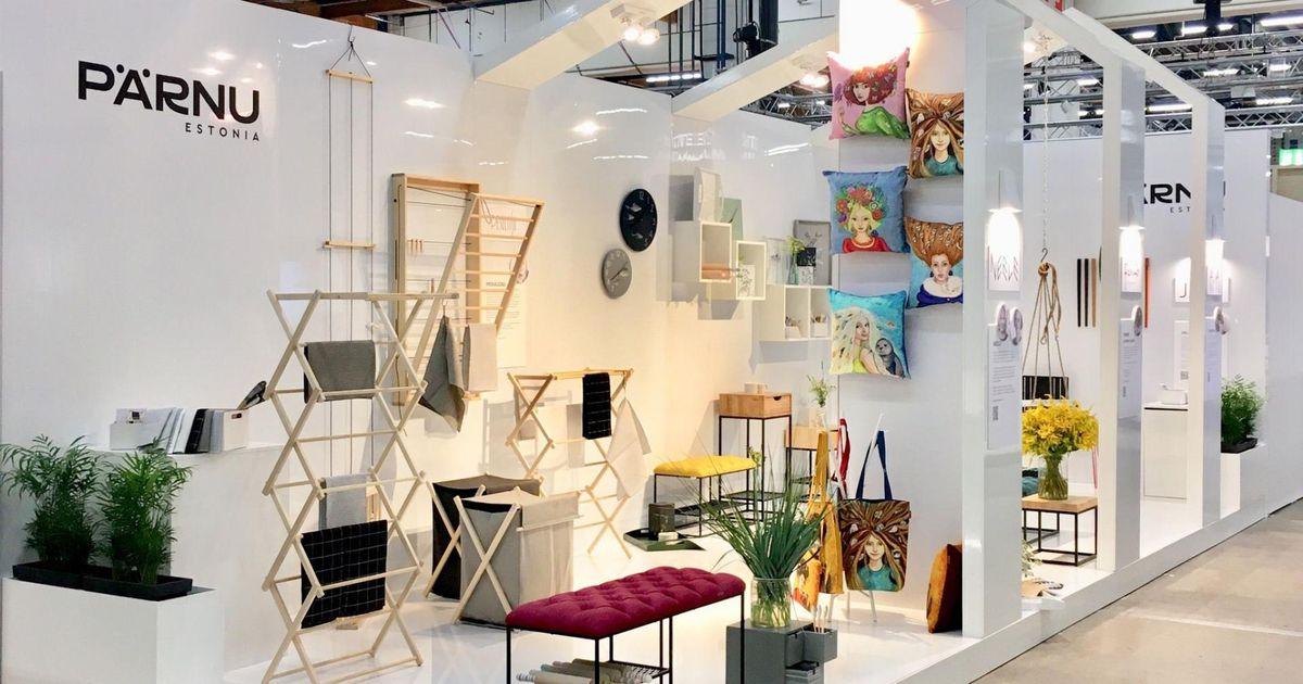 Galerii: Pärnu disainerite toodete vastu valitseb Helsingis suur huvi