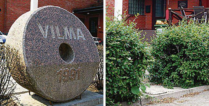ebf89e3fce9 Viljandi leivategu sümboliseeris 20 aastat Vilma hoone juures seisnud  veskikivi, mis järgmisest nädalast kaunistab kunagise leivakombinaadi  suuromaniku ...