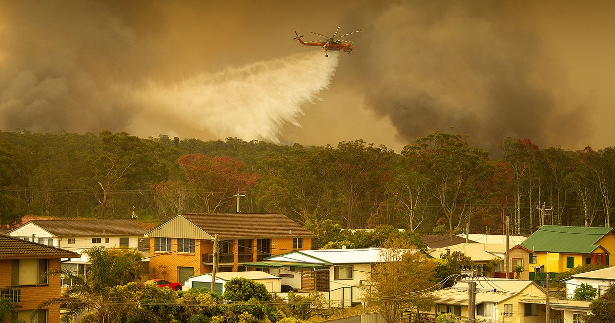 Austraalia maastikupõlengutes on hukkunud üks inimene ja hävinud 100 elamut