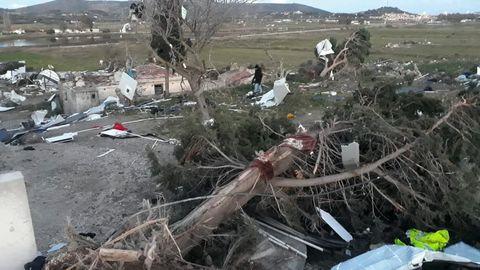 Türgi rannikulinna Çeşmet tabanud tornaado vigastas 16 inimest