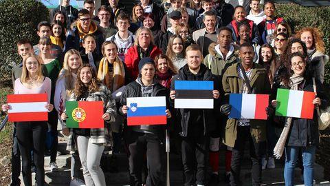 Ühisgümnaasiumi õpilased kavandasid Austrias tulevikumaju