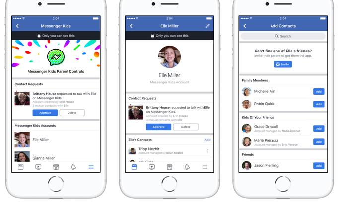 c82d339643c Facebook lõi lastele oma Messengeri - Uudised - Tehnika