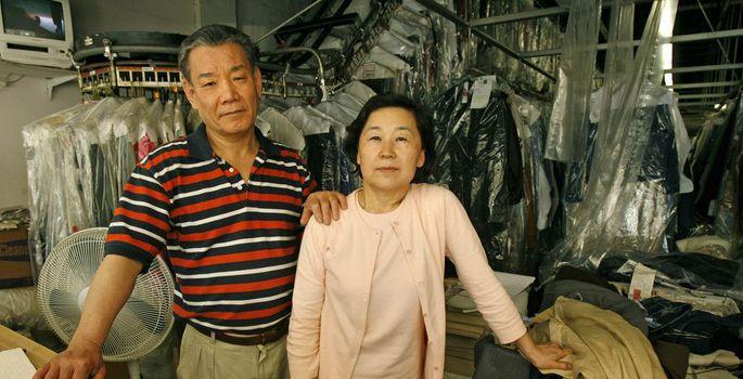 887db892a67 Keemilise puhastuse abielupaarist omanikud Jin Nam Chung ja Ki Chung, kelle  vastu pettunud klient on esitanud uskumatu hiigelkahjunõude.