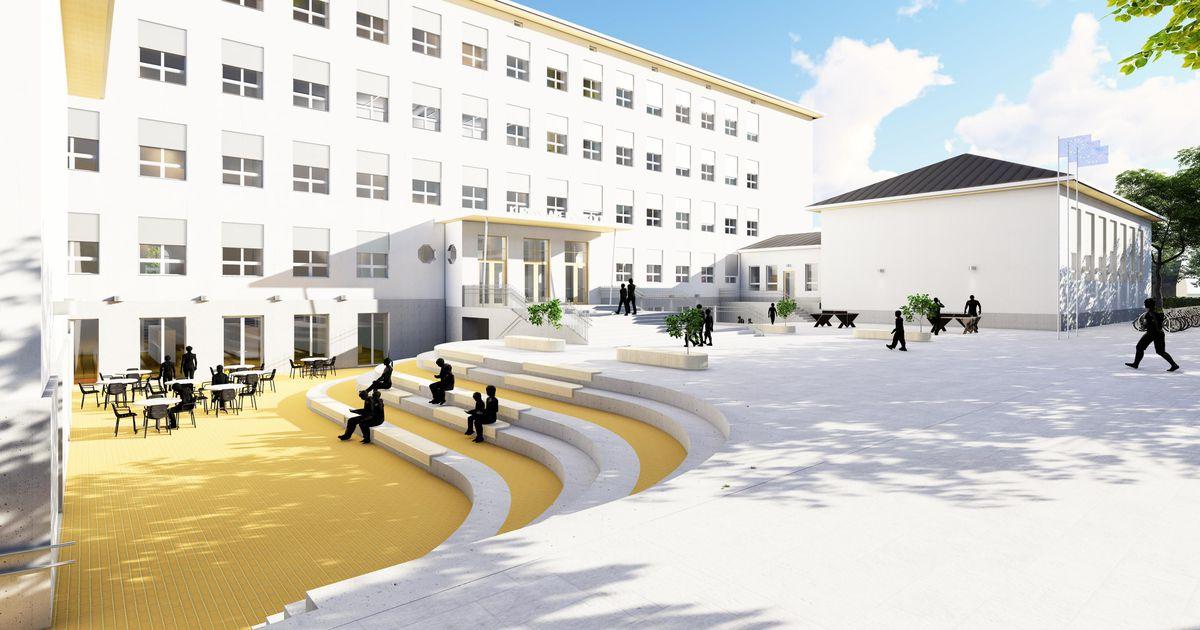 Nii näeb Saaremaa ühisgümnaasium välja aastal 2022