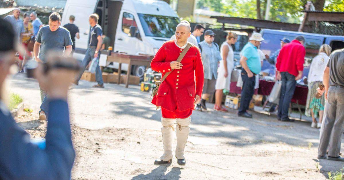 Galerii: Baltimaade suurima militaarajaloo festivali avamine