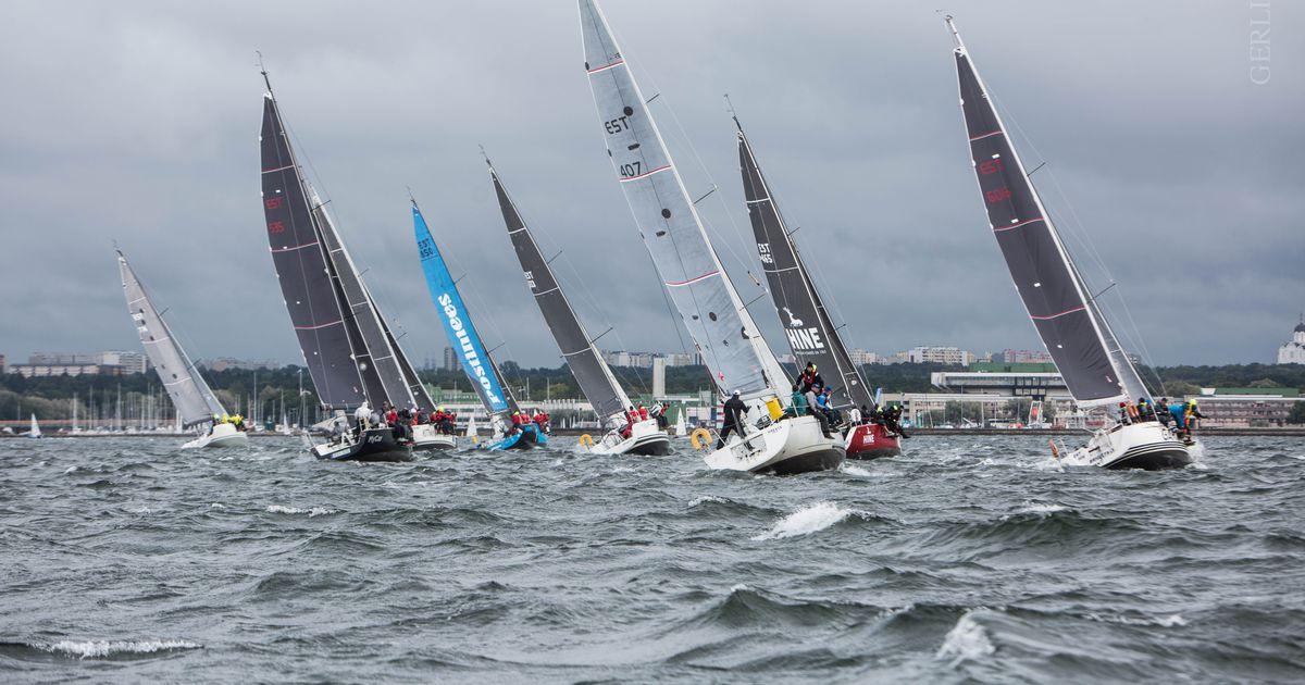 Marinepool-Kalevi Jahtklubi kolmapäevaregatt purjetati tugevas tuules