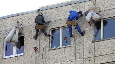 Ehitusvaldkonda peetakse üheks tervist kahjustavamaks tööks.