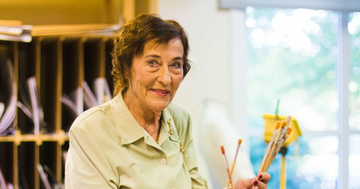 Legendaarne kunstiõpetaja Leili Voll hoidis kätt pulsil lõpuni