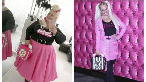 Pildil 89 kilogrammi kaotanud Kayla Lavende