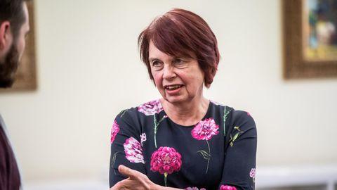 COVID-19 tõrje teadusnõukoja juht professor Irja Lutsar
