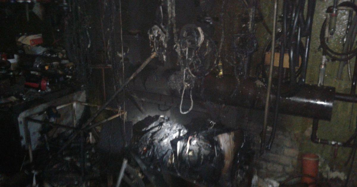 Lihulas põles pagaritööstuse hoone