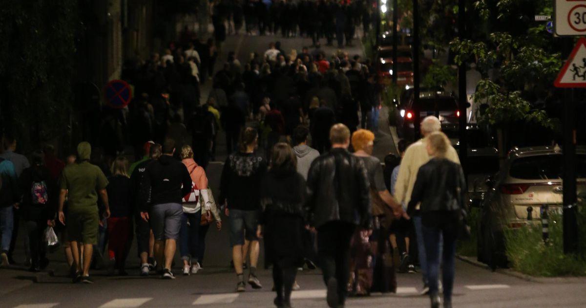 Öine rahvamass jättis Tartu kesklinna üllatavalt puhtaks