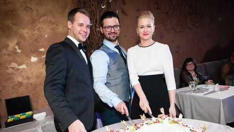 FHK Kliiniku juhatus Andreas Tiik, Kristo Ivanov, Pille Soom