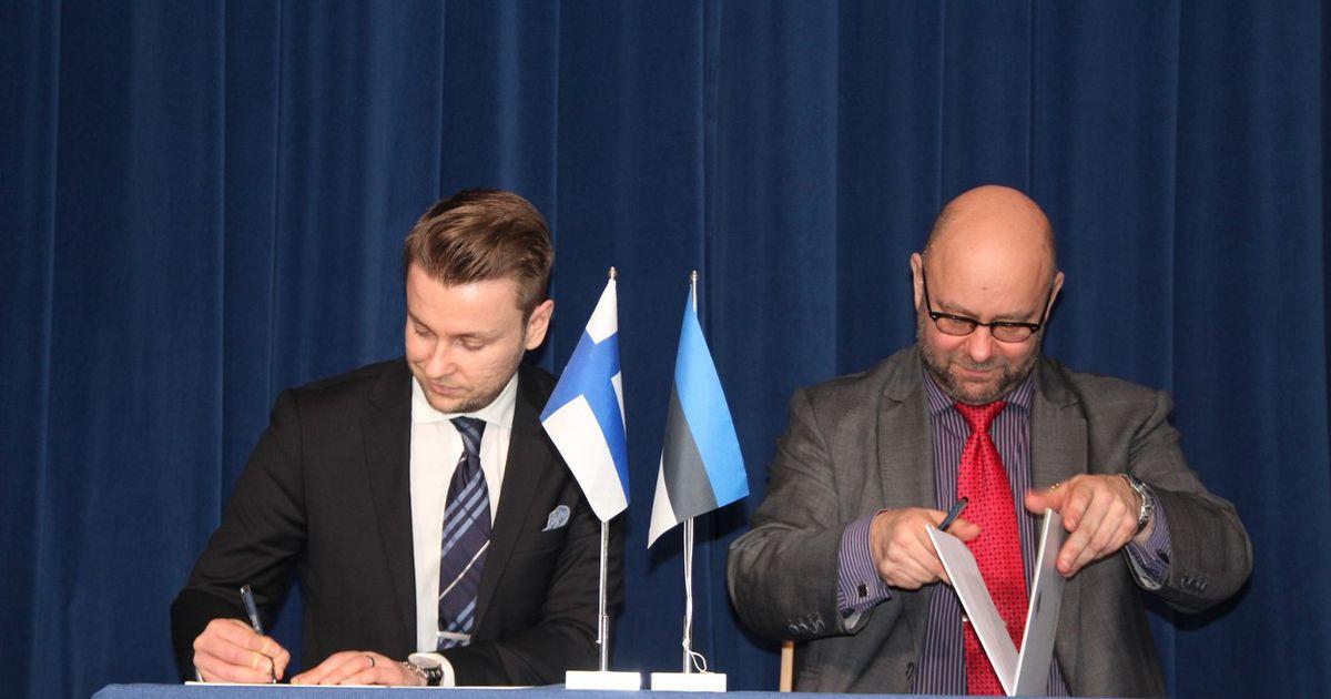 Otepää ja Vihti valla juhid uuendasid sõpruslepingut