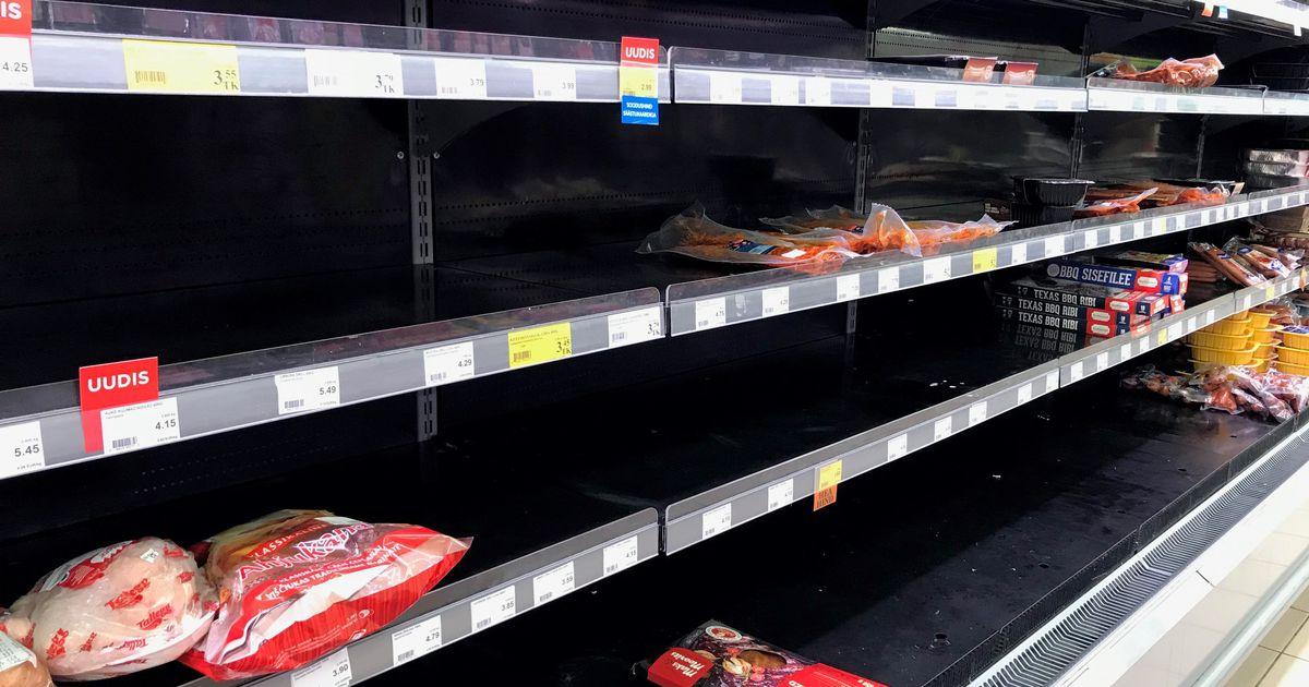 Piltuudis: Maksimarketi lihaletis valitseb tühjus