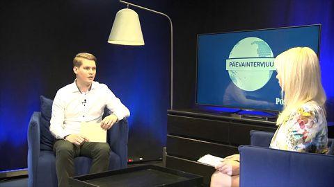 Päevaintervjuu 23.05.2018. Stuudios Joosep Vimm, Sotsiaaldemokraatide noortekogu juht
