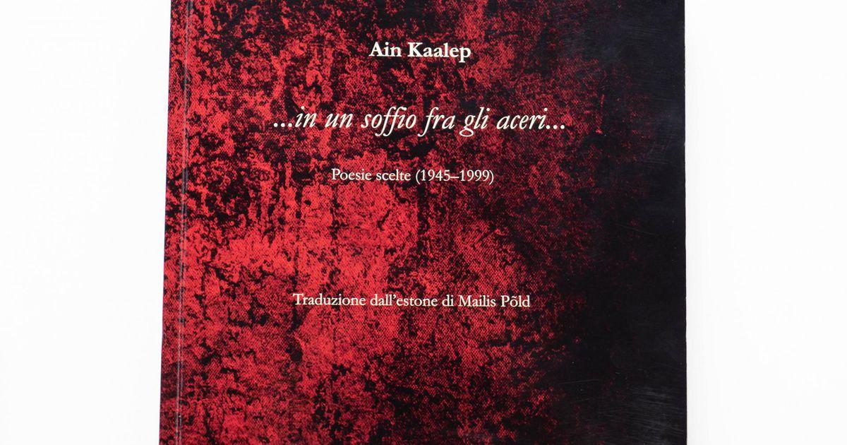 Marju Lepajõe soovitas Ain Kaalepi raamatut