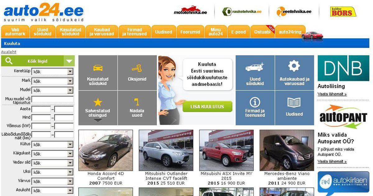 d29cf816942 Portaal: kasutatud autode turg püsib stabiilne - Auto - Tehnika