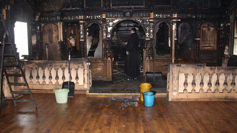 Narva-Jõesuu kirikupõlengus hävis veerand kunstivarast