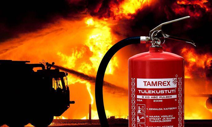 00a1d83ecb4 FOTO: Tamrex. Kvaliteetne tulekustuti ning selle perioodiline kontroll ja  hooldus ...