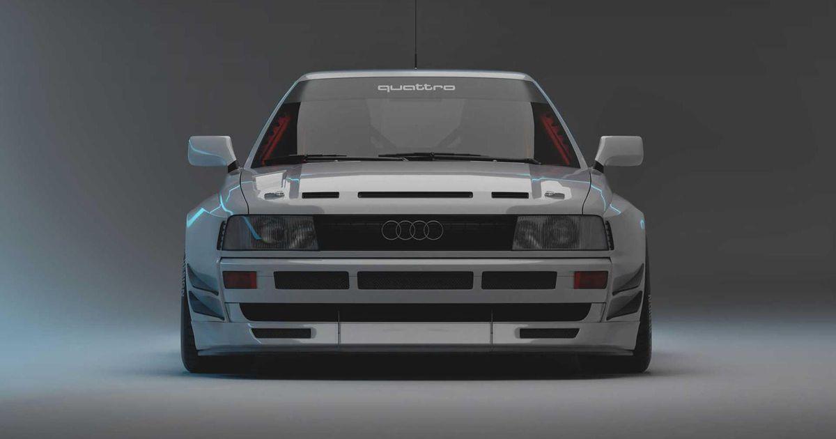 Vācu tūninga firma rada Audi kupeju, kādu Audi...