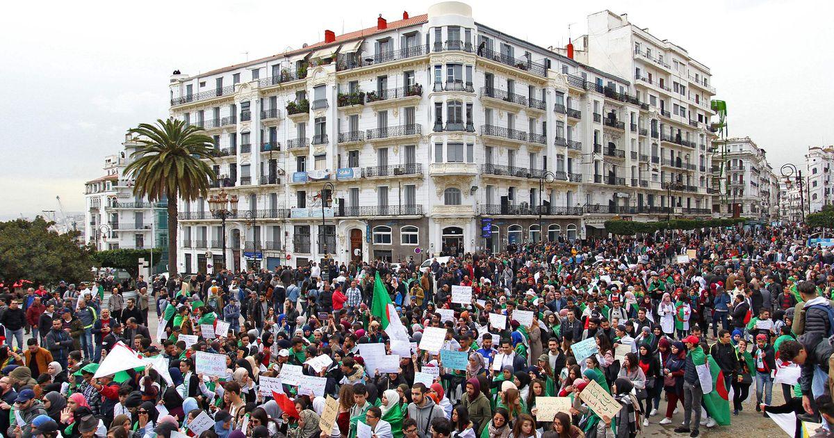 Bouteflika partei teatas Alžeeria protestide toetamisest