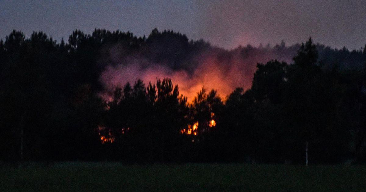 Päästjad käisid põlevat maja vaatamas