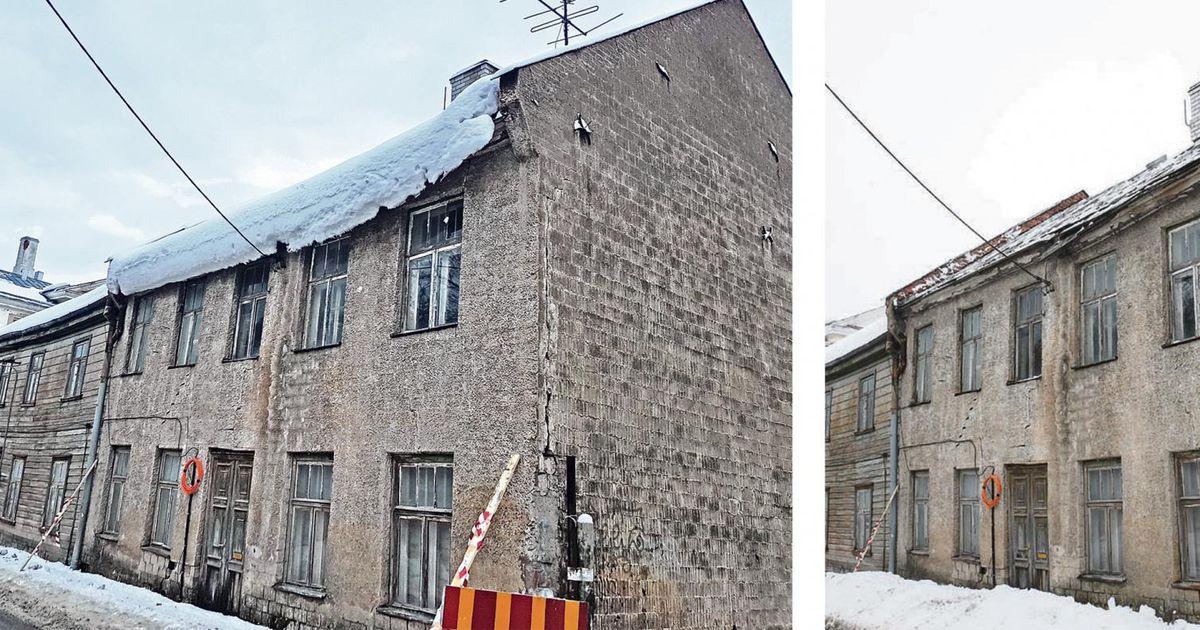Linnavalitsus laseb katused puhtaks rookida ja esitab arve
