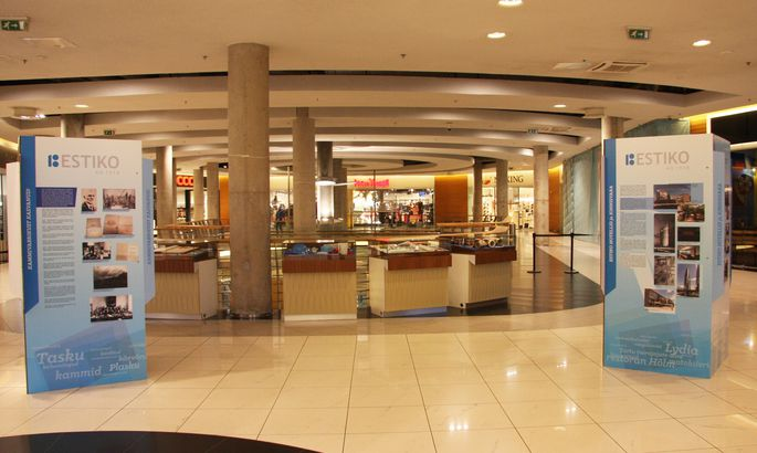 f44f3b4f2de Kaubanduskeskuses saab tutvuda 100-aastase Estiko grupi arengulooga ...